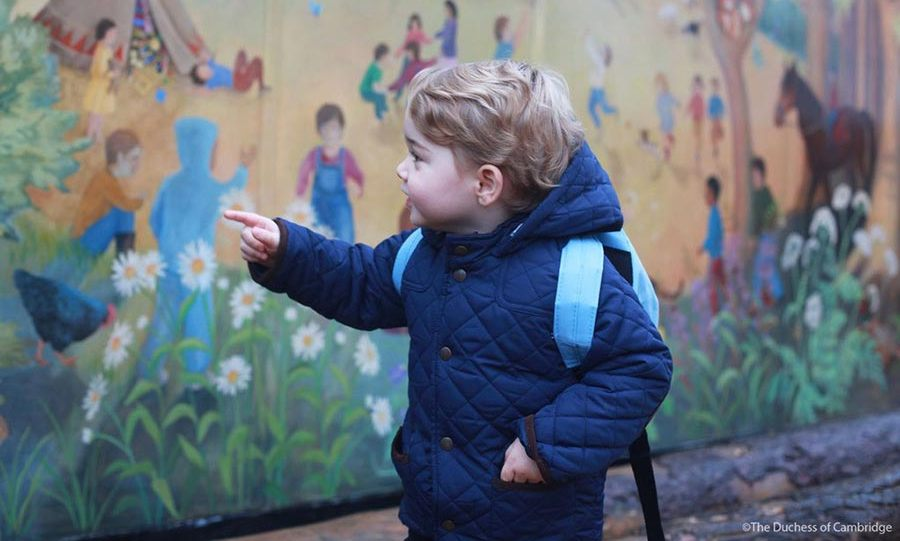 "Prince George is said to be ""settling into nursery very well"" since his induction in January, and it seems he could soon be top of his class, as the future King has been described as a ""very clever, articulate little boy"" by actress Sophie Winkleman.