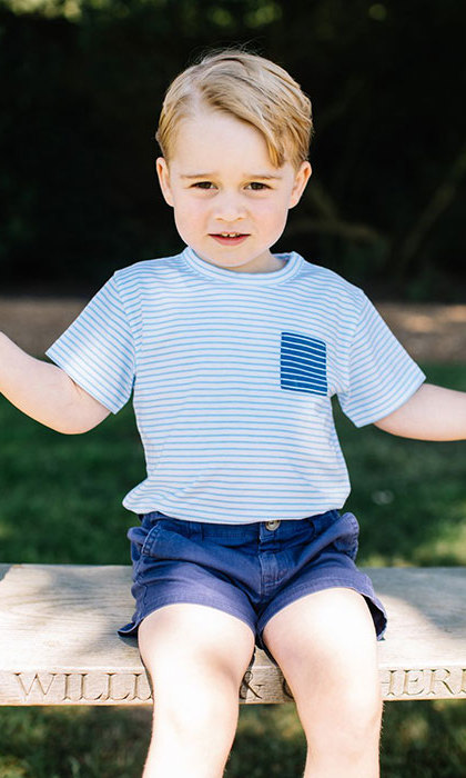 Matt was chosen to photograph Prince George on his third birthday.
