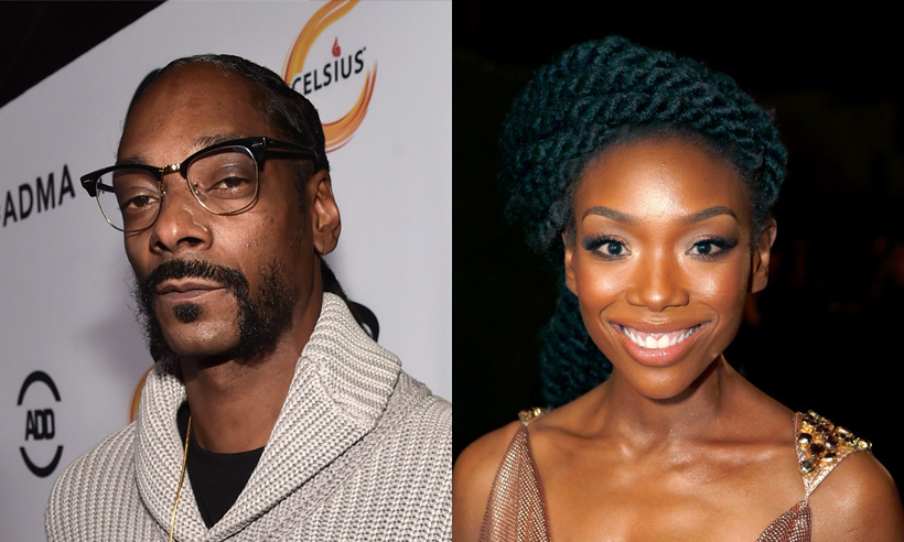 "Did you know that Snoop Dogg and singer Brandy are first cousins? They mixed family life with their professions when they collaborated on the rapper's track ""Special.""