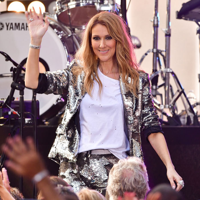 Celine returned to the TODAY show stage for the first time since 2013.