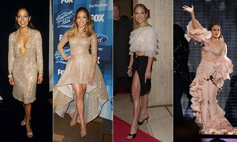 Jennifer Lopez has made a name for herself as a dancer, singer and actress. Through it all she's also established herself as a bona fide style star, whose glamorous taste shines both on stage and off. 