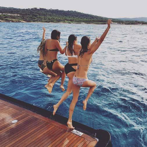 """Jumping for Joy  #StTropez #eurosummer.""