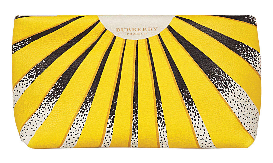 "<strong>Burberry Prorsum Summer Meadows Leather Clutch</strong>, $456, <a href=""http://theoutnet.com"" target=""_blank"">theoutnet.com</a>"