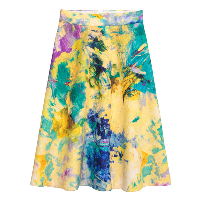 "<strong>Textured Skirt</strong>, $60, <a href=""http://hm.com"" target=""_blank"">hm.com</a>"