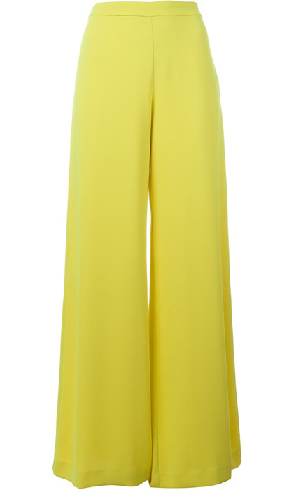 "<strong>P.A.R.O.S.H. Pantera Palazzo Trousers</strong>, $348, <a href=""http://farfetch.com"" target=""_blank"">farfetch.com</a>"