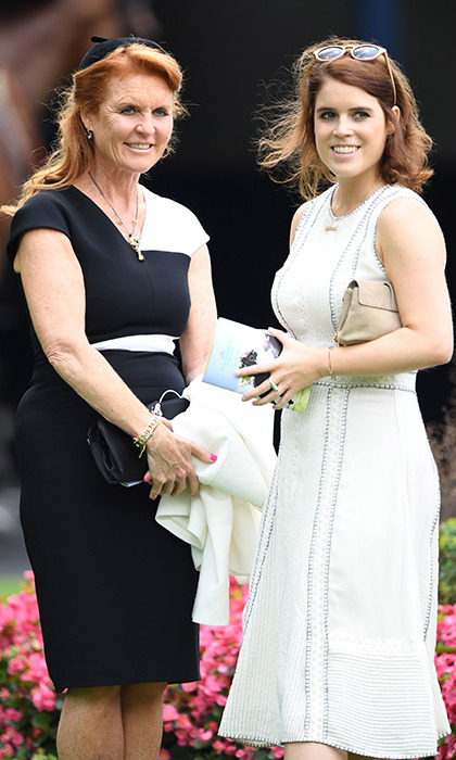 The mother-daughter duo were celebrating King George VI weekend at Royal Ascot.