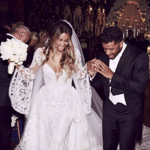 "The couple made their newlywed status Instagram official by sharing a sweet wedding photo which they captioned: ""We are the Wilsons!""