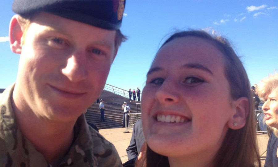 <p>During a walkabout in Sydney in 2015, while Prince Harry was on secondment with the Australian Army, the handsome bachelor didn't disappoint fans.