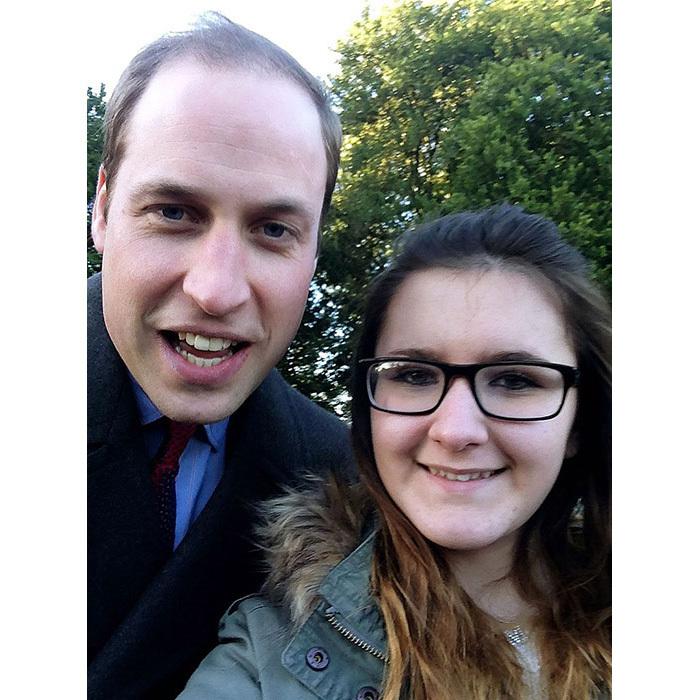 <p>Her husband Prince William was stopped by one young fan, 12-year-old Madison Lambe, who asked the future King for a snap while he was walking to church on Christmas Day in 2014.