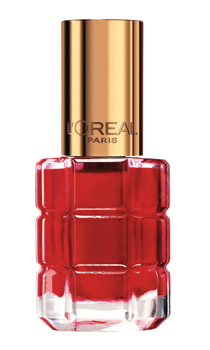 "<strong>L'Oréal Paris Le Vernis à L'Huile by Colour Riche in Carmin Parisien and Rouge Sauvage</strong>, $10 each, drugstores and mass-market retailers, <a href=""http://lorealparis.ca"" target=""_blank"">lorealparis.ca</a>"