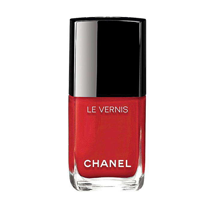 "<strong>Chanel Le Vernis in Rouge Essentiel</strong>, $32, <a href=""http://chanel.com"" target=""_blank"">chanel.com</a>"