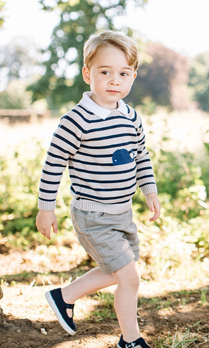George celebrated his third birthday a few days ago.