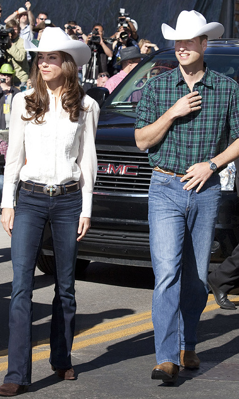 <h4>Casual Kate and William