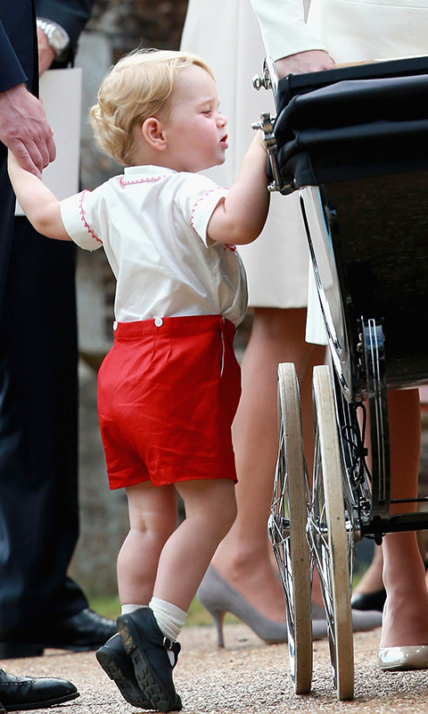 <h4>Prince George and Princess Charlotte interacting