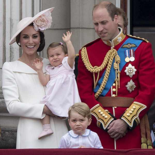 <h4>Princess Charlotte's first royal engagement