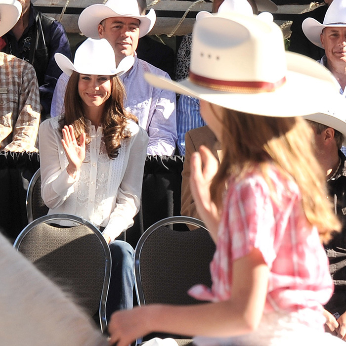The duchess was a crowd favourite at the Calgary Stampede.