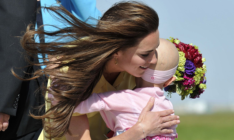 One of the most memorable moments of the tour came when Kate was greeted by a young fan named Diamond at Calgary airport. The duchess was completely charmed by the youngster, who sadly passed away from cancer in 2014.