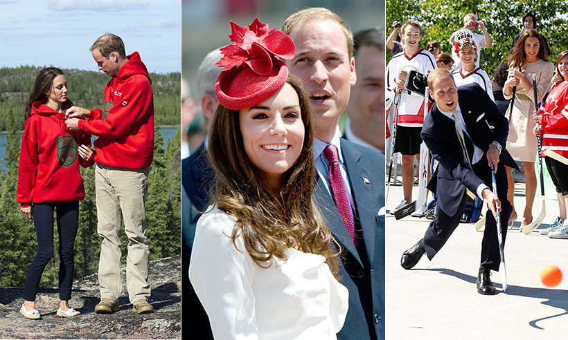 A look back at the Prince William and Kate's travels across Canada.