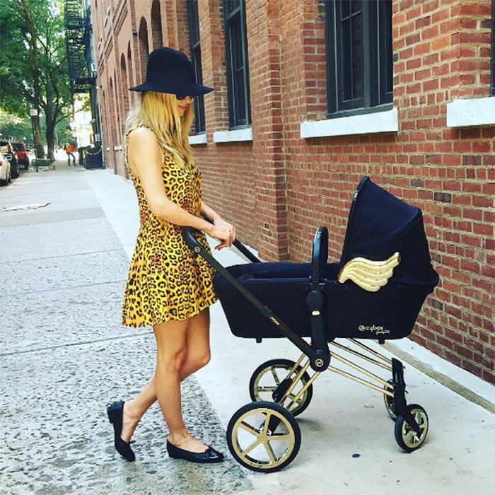 Nicky Hilton shared a photo of her stylish pram on Instagram.