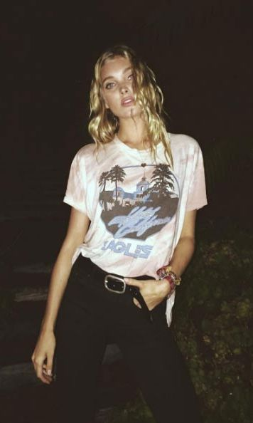 <p>Say hello to our new style crush, Swedish model Elsa Hosk. The Victoria's Secret model gives her 2.5 million Instagram followers almost daily fashion inspiration with her feed.