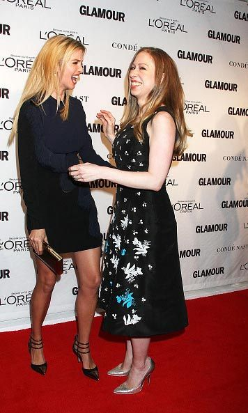 "Chelsea Clinton and Ivanka Trump have been friends long before their respective parents Hillary Clinton and Donald Trump battled it out in the 2016 presidential campaign. ""Ivanka and I talk about everything,"" Chelsea told <i>Entertainment Tonight</i> in 2015. ""I'm so grateful she's my friend. I think she's a great woman. I support her – I support all my friends.""