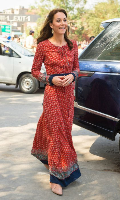 <p>The Duchess of Cambridge opted for another Indian-inspired ensemble for day three of the royal tour in India. But this particular look comes with a very affordable price tag...