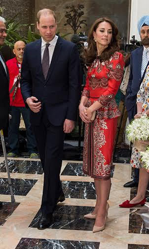 <p>The Duchess of Cambridge, née Kate Middleton received worldwide praise for her debut appearances in India.