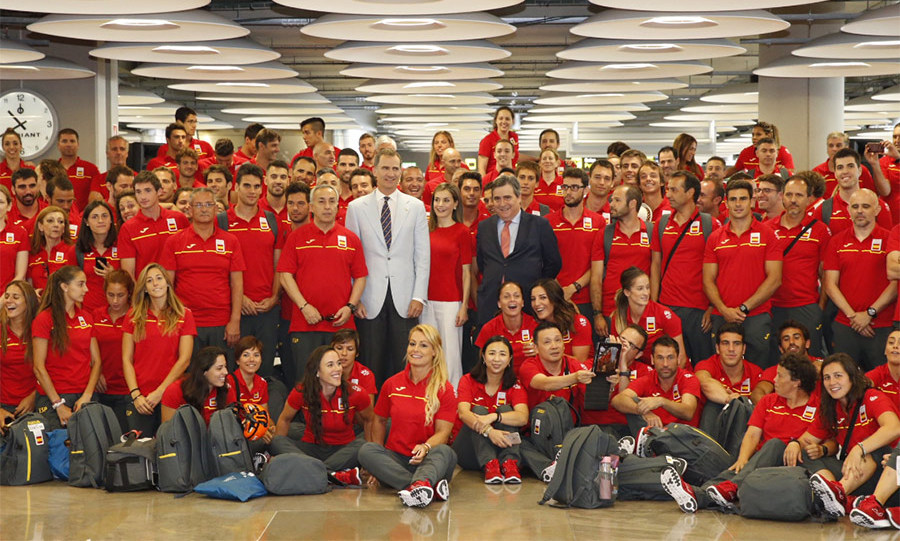 <h4>King Felipe and Queen Letizia of Spain