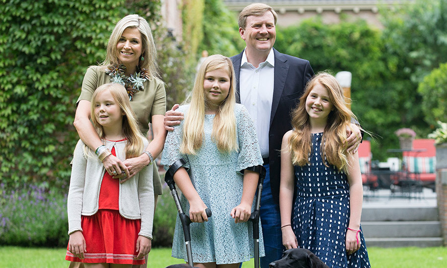 <h4>King Willem-Alexander and Queen Máxima of the Netherlands