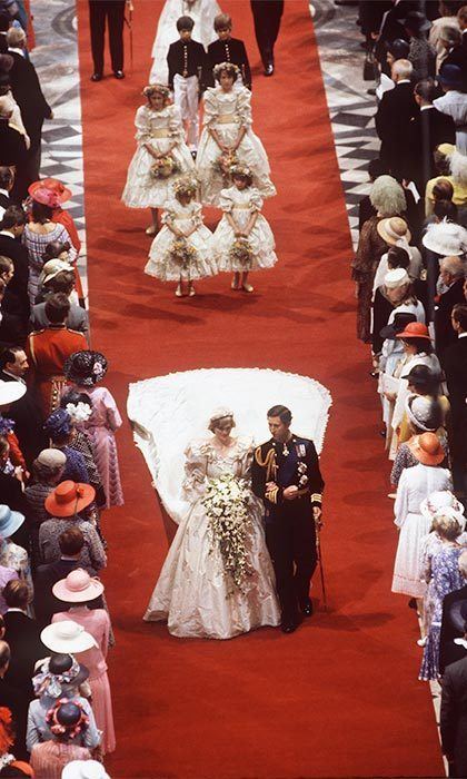 On July 29, 1981, Diana became the first British citizen to marry an heir to the British throne in 300 years. The couple were married at St. Paul's Cathedral in London. 