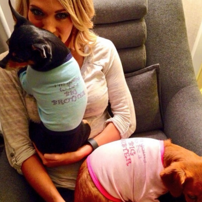 <h4>Carrie Underwood and Mike Fisher