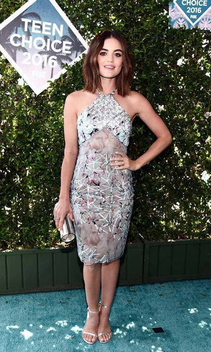 <em>Pretty Little Liars</em> star Lucy Hale.
