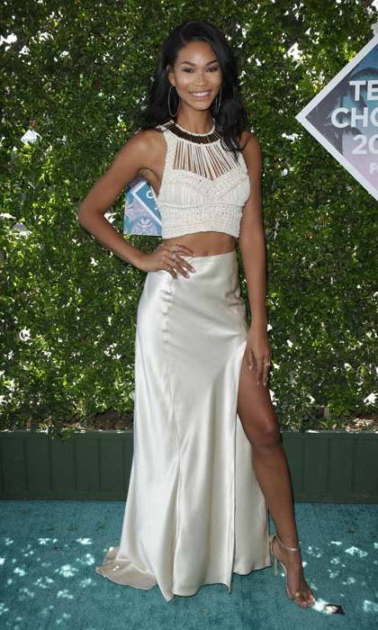 Chanel Iman.