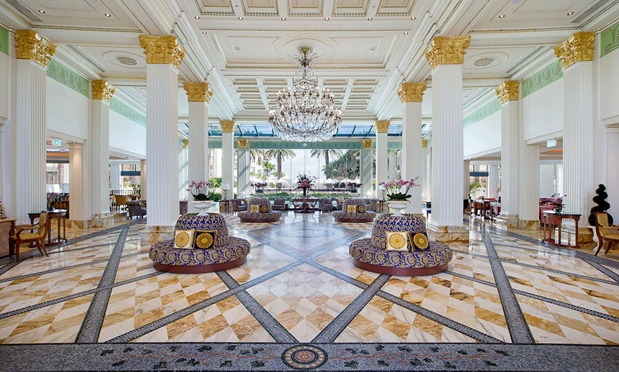 <h4>Donatella Versace<br>Palazzo Versace, <em>Gold Coast</em>, <em>Australia</em>
