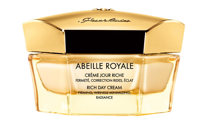 <p><b>Guerlain Abeille Royale Rich Day Cream, $177, at Guerlain boutiques, institute, and select counters</b></p>