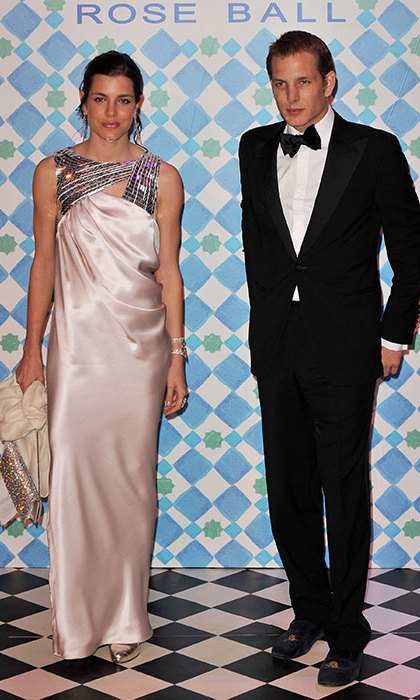 In 2010, the family moved back to Monte Carlo, where Charlotte is a regular at the Rose Ball, the most glittering event in the principality's social calendar.