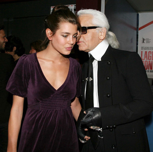 Chanel's Karl Lagerfeld recognised her charisma early on, and compared her to a youthful Brigitte Bardot.