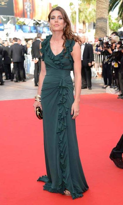 Charlotte's gorgeous green gown and red carpet presence set flashbulbs aflutter when she attended the <em>Madagascar 3</em>: <em>Europe's Most Wanted</em> premiere at the Cannes Film Festival in May 2012