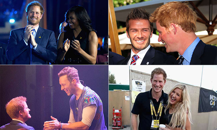 <p>With his famous sense of humour and down to earth nature, it's no wonder Prince Harry is so popular among many of the high profile figures he meets.