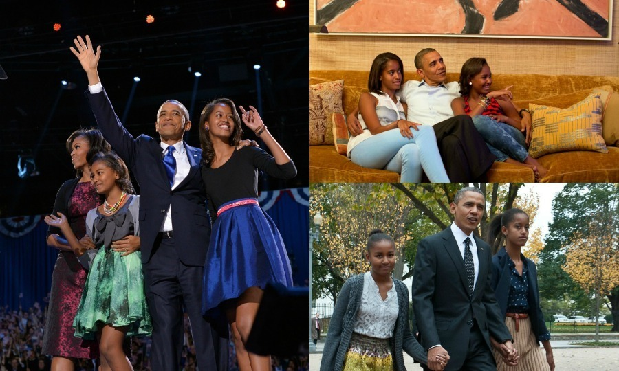 A look at the best father-daughter moments between Barack Obama and his daughters Malia and Sasha.