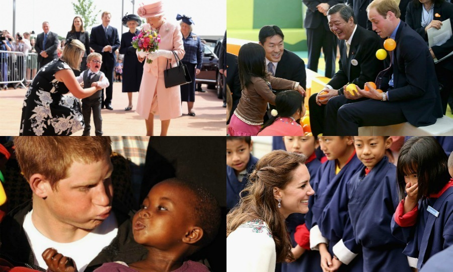 Meeting a member of the royal family can induce of number of emotions ranging from bashfulness to laughter and sometimes sheer terror — when it comes to children, at least! Click through for a look at the best reactions from kids meeting some of our favourite royals...