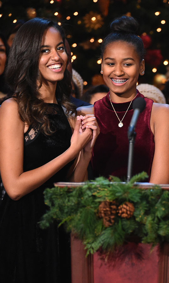 Malia and Sasha Obama influenced their father's opinion towards feminism. 