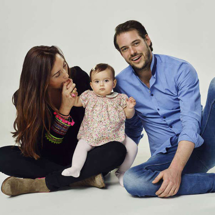 <p>The trio are the picture-perfect royal family in a portrait released to mark Amalia's first birthday.