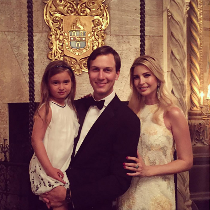 "Ivanka had a couple of ""hot dates"" during a black-tie event.
