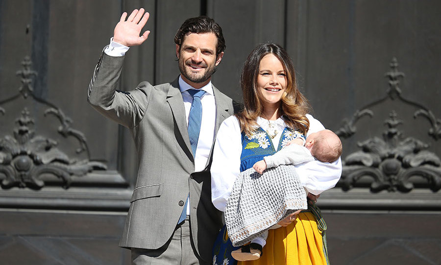 Prince Carl Philip and Princess Sofia first met in the town of Bastad. 