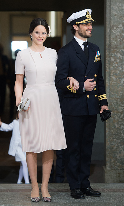 "Prince Carl Philip and Princess Sofia said their first meeting was ""love at first sight."" 