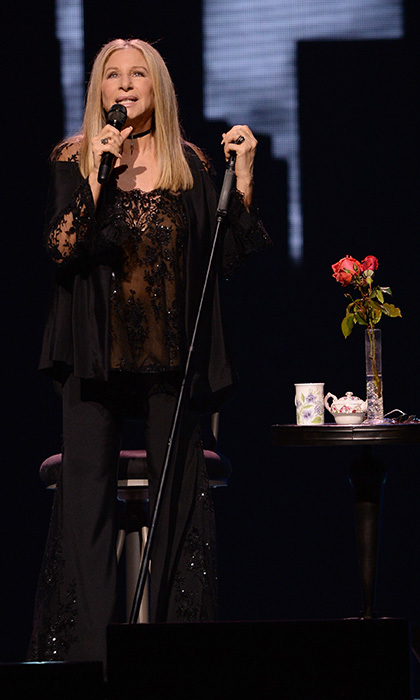 Legendary singer Barbra Streisand blew the roof off the Staples Center on Aug. 2. The Oscar winner is currently on tour with her <i>Barbra - The Music... The Mem'ries... The Magic!</i> show. 