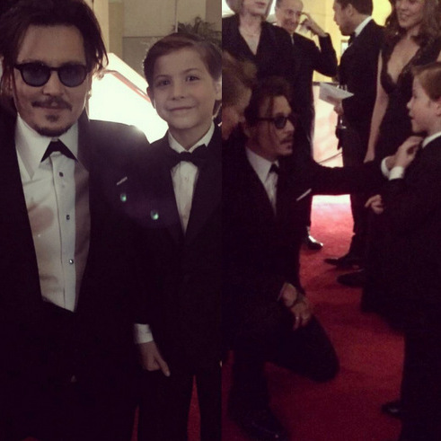 "That time Jacob met his ""favourite actor"" Johnny Depp at the Governors Awards. Recalling his encounter, he wrote, ""We are now best buddies! #mindblown."" The young actor's co-star Brie Larson admitted to <i>Vanity Fair</i> that Johnny and Jacob even ""have a handshake.""