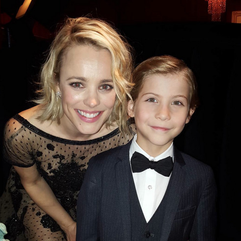 O Canada! Jacob hung out with fellow Canuck Rachel McAdams at the 2016 SAG Awards.