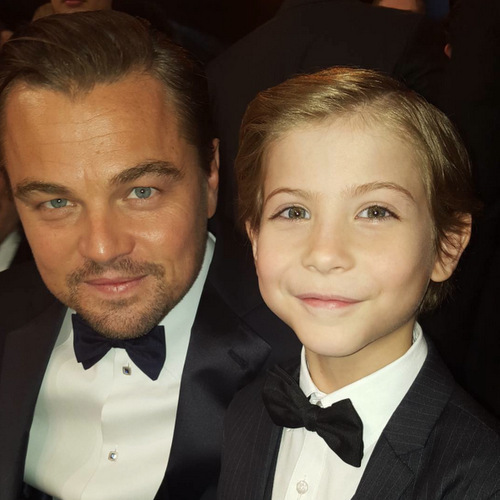 "Jacob made hearts around the world melt with this adorable snap of himself and Leonardo DiCaprio. Recalling his meeting with the <i>Revenant</i> actor at the SAG Awards, he told Ellen DeGeneres, ""I noticed a huge line of people trying to meet [Leo]. And I was just like, 'Oh, I'm a kid. I can skip it.' So I skipped it and just said, 'Hi.'""